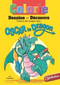 Oscar le dragon : colorie, dessine et découvre les dragons