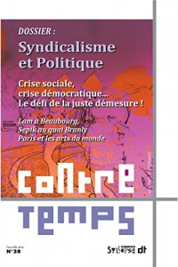 Contretemps N28 Social Libéralisme de Hollande