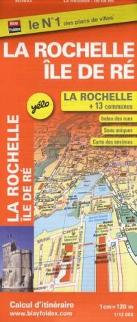 Plan de Ville de la Rochelle Echelle 1/12 000