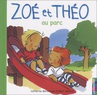 Zoé et Théo au parc