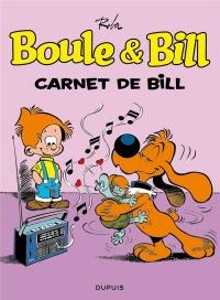 Boule & Bill (Dupuis) T18 Boule et Bill - Tome 18 - Carnet de Bill (Ope Ete 2018)