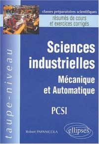 Sciences industrielles PCSI : Mécanique et automatique