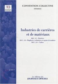 Industries de carrières et de matériaux
