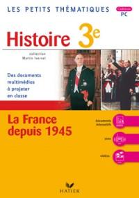 3e histoire La France depuis 1945