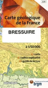 Bressuire : 1/50 000