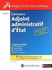 Concours adjoint administratif d'Etat - Catégorie C