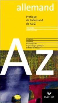 L'Allemand de A à Z, édition 2003