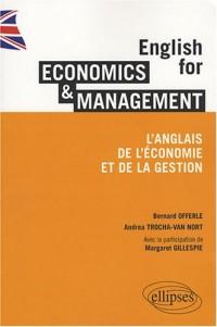 English for economics & management : L'anglais de l'économie et de la gestion