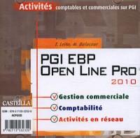 PGI EBP Open Line Pro 2010 : Activités comptables et commerciales sur PGI (1Cédérom)