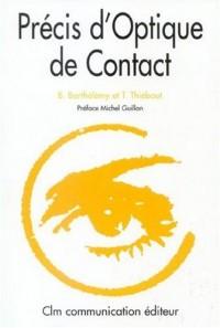 Précis d'Optique de Contact