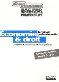 Les Dossiers professionnels : Economie et Droit, terminale professionnelle (Manuel)