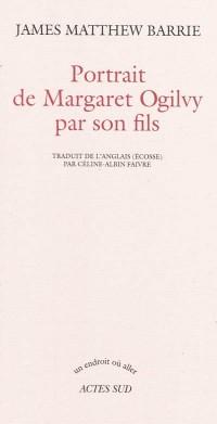 Portrait de Margaret Ogilvy par son fils