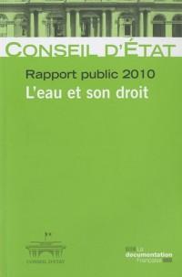 L'eau et son droit. Rapport annuel du Conseil d'Etat, volume 2