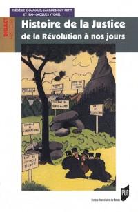 Histoire de la Justice de la Révolution à nos jours