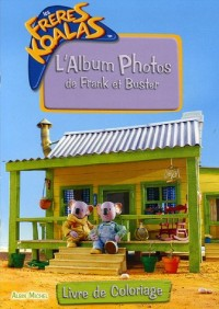 L'Album Photos de Frank et Buster : Livre de coloriage