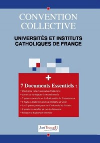 3308. universites et instituts catholiques de france Convention collective