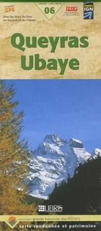 Carte de randonnée : Queyras Ubaye, numéro 6