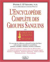 Encyclopédie des 4 groupes sanguins