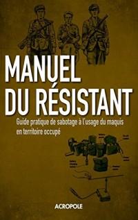 Le Manuel du résistant