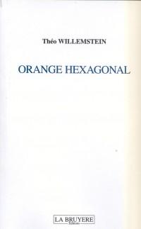 Orange Hexagonal