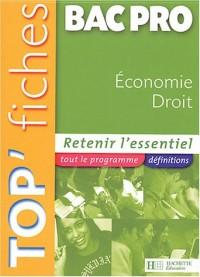 Economie-Droit Bac Pro