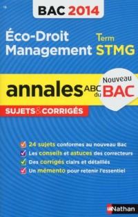 Annales Bac 2013 Économie Droit Management des Organisations Stmg Cor N19