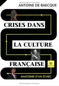 Crises dans la culture française