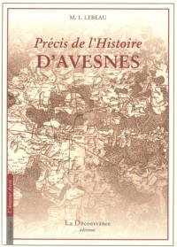 Precis de l'Histoire d'Avesnes