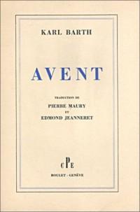 Avent (livre non massicoté)