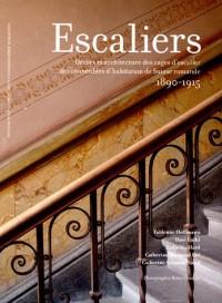 Escaliers : Décors et architecture des cages d'escaliers des immeubles d'habitation de Suisse romande 1890-1915