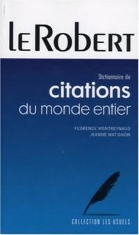 Dictionnaire de citations du monde entier