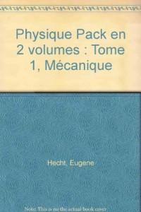 Physique : Tome 1, Mécanique, Pack en 2 volumes : Manuel et solutionnaire