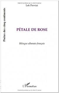 Petale de rose bilingue albanais français