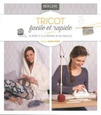 Tricoter simplissime a la machine et a la main