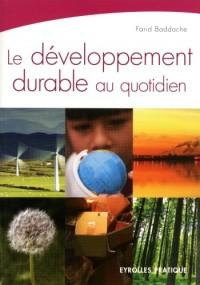 Le développement durable au quotidien