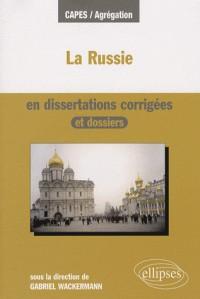 La Russie En Dissertations Corrigees Et Dossiers