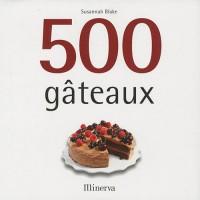 500 gâteaux