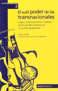 SUTIL PODER DE LAS TRANSNACIONALES, EL