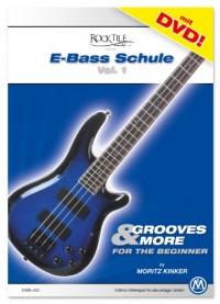 Moritz Kinker Grooves & More-École de basse électrique débutants + DVD