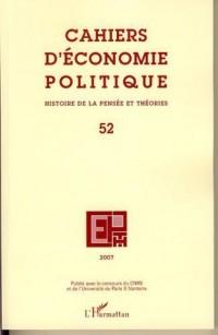 Cahiers d'économie politique n° 52
