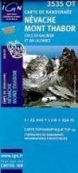 Carte de randonnée : Névache, Mont Thabor