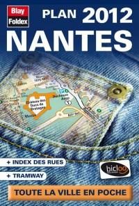 Nantes  Plan de Poche 2012