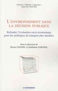 L'  Environnement Dans la Décision Publique