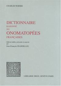 Dictionnaire raisonné des onomatopées françaises
