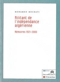 Militant de l'independance algerienne