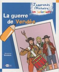 Coloriage  les guerres de Vendée
