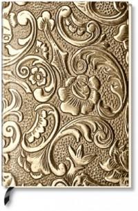 Alpha Edition - Carnet de notes vierge - Fleur métallique (Import Allemagne)