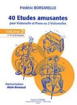 40 Etudes amusantes - vol.2