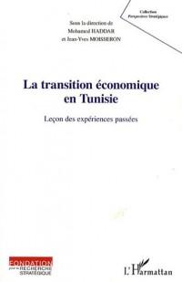 Transition economique en tunisie leçon des expériences passees