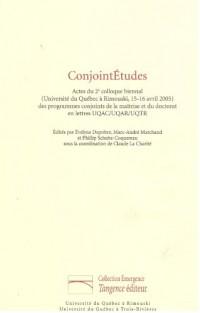 Conjoint Etudes